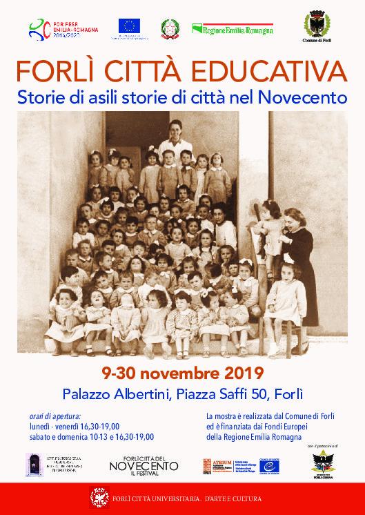 Forlì Città Educativa: Storie di Asili e Storie di Città del Novecento