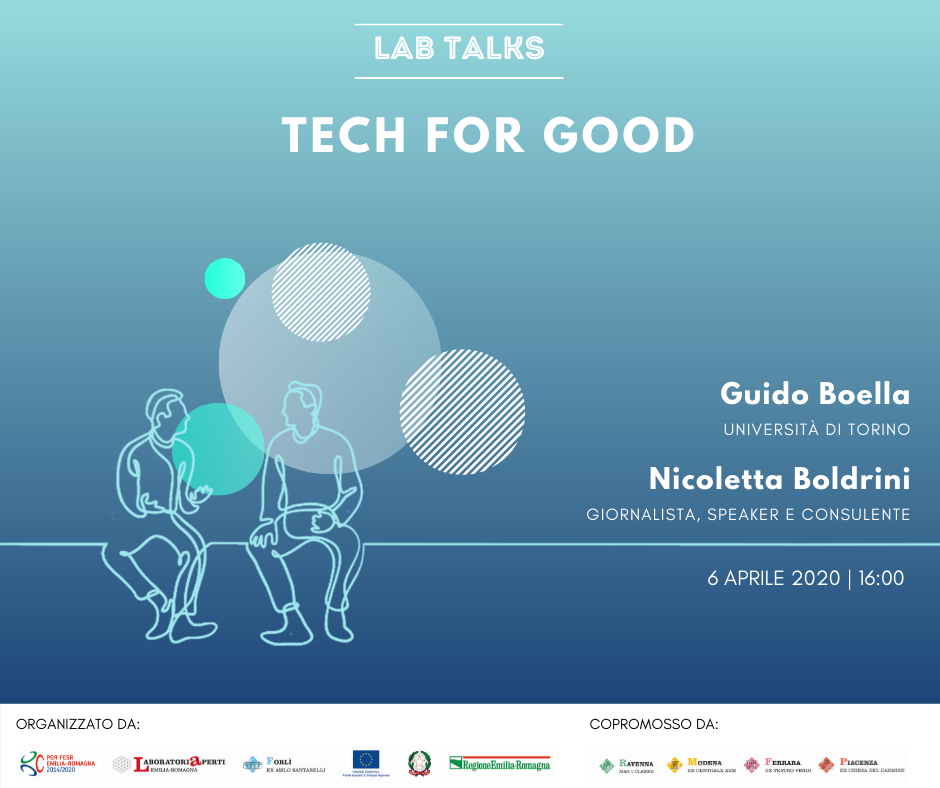 "LAB TALKS ""TECH FOR GOOD"" 