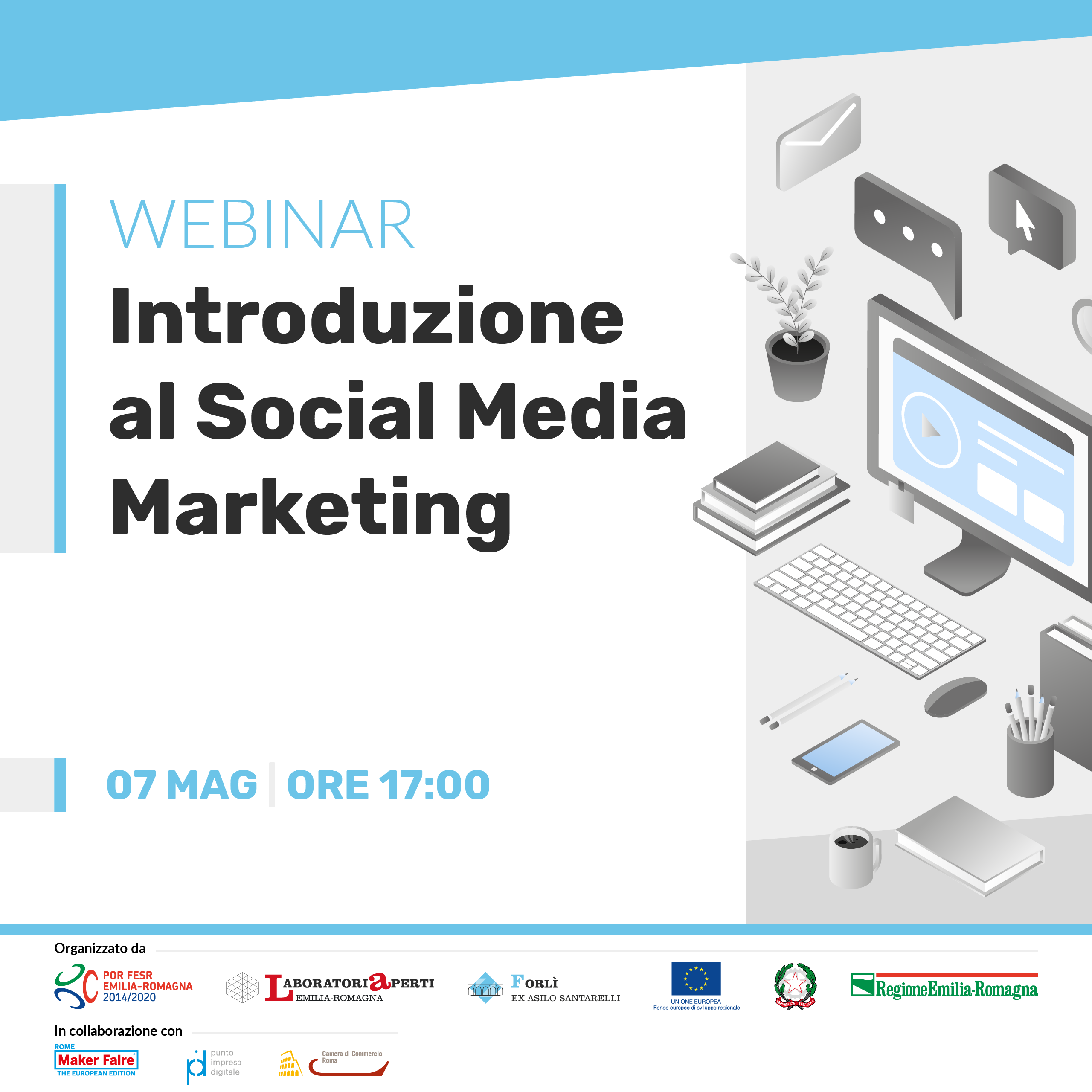 CICLO DI WEBINAR – MARKETING E COMUNICAZIONE ONLINE